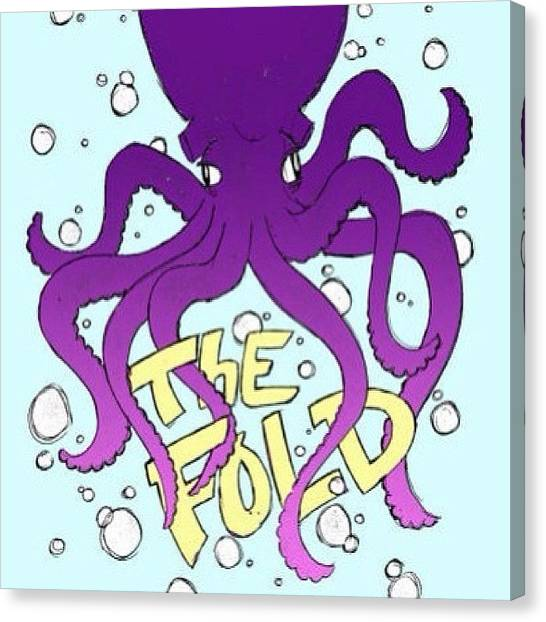 Octopus Canvas Print - Octopus!!! Drawn As A Concept For by Mike Stanzione