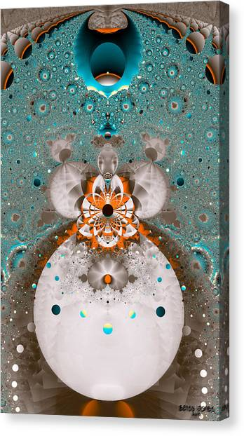 Canvas Print - Ocular Obtrusion by Betsy Jones