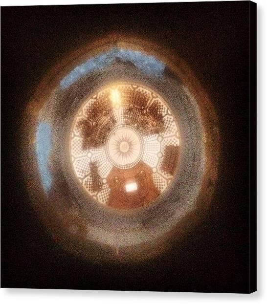 Vertigo Canvas Print - Oculo #saintpaulscathedral #london by Ivan Bortot