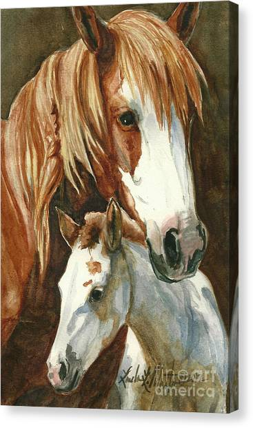 Oda And Hopscotch Canvas Print