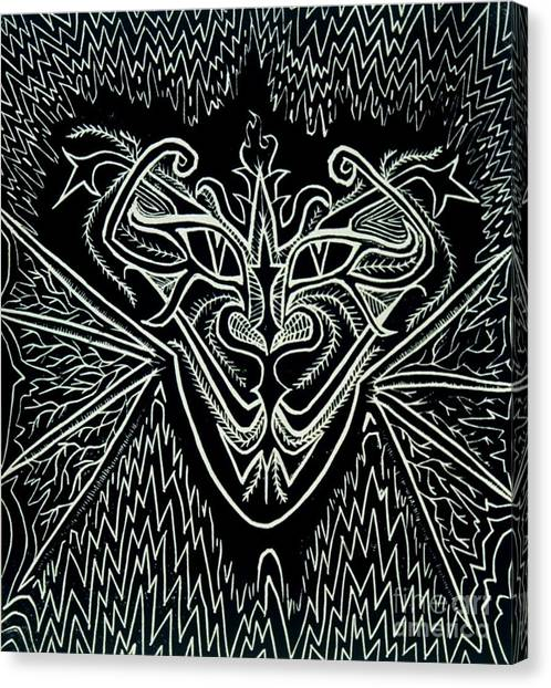 Oddity Canvas Print by Coriander  Shea