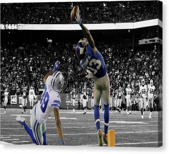 Odell Beckham Greatest Catch Ever Canvas Print