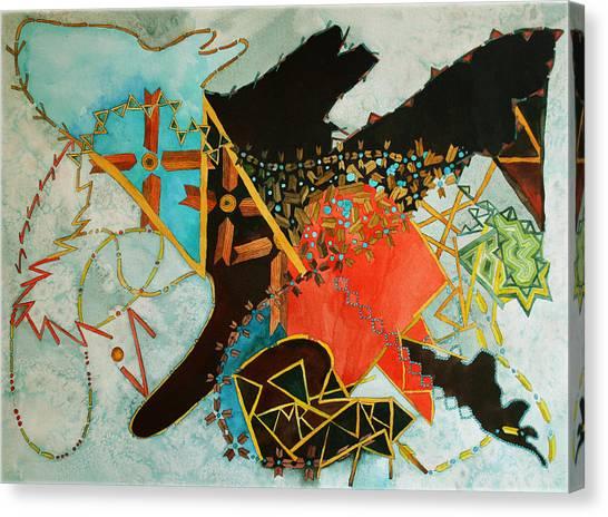 Odin's Dream Canvas Print