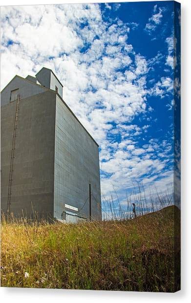 Of Clouds And Grain Canvas Print