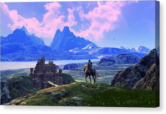 Of Many Knights Canvas Print
