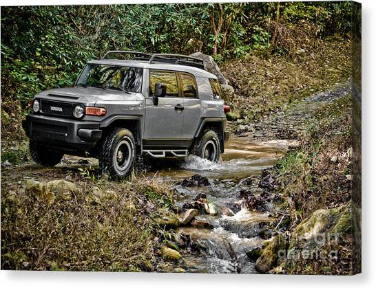 Offroading Canvas Print - Off Road Cruiser 2 by Jt PhotoDesign
