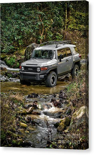 Offroading Canvas Print - Off Road Cruiser by Jt PhotoDesign