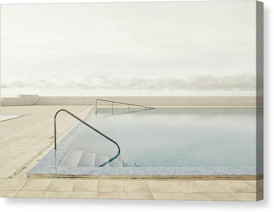 Calm Canvas Print - Offseason by Robert Steinkopff