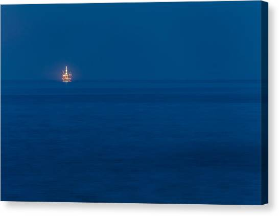 Offshore Rig Canvas Print
