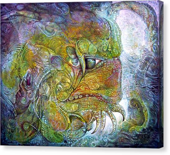 Offspring Of Tiamat - The Fomorii Union Canvas Print