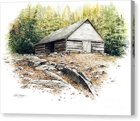 Ogle Barn - 1880 Canvas Print