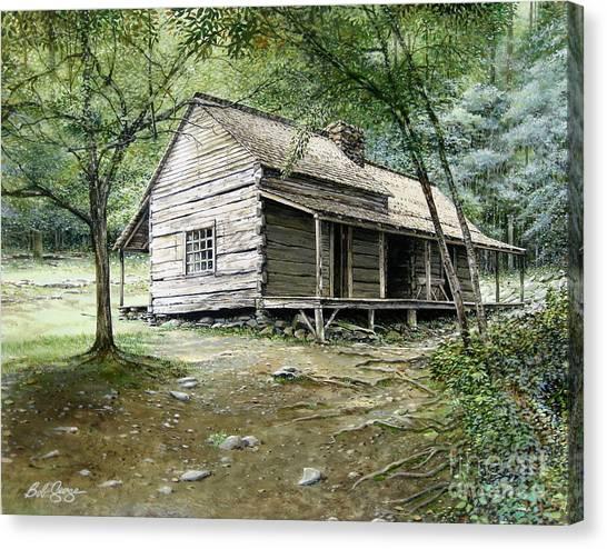 Ogle Cabin Canvas Print