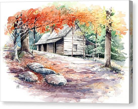 Ogle Farmhouse Canvas Print
