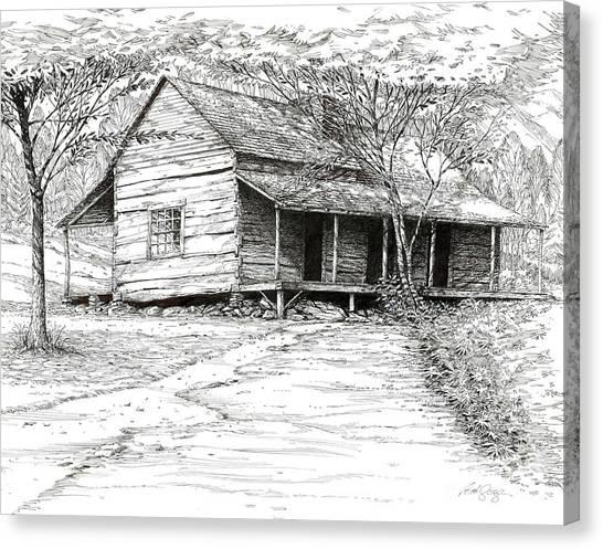 Ogle's Back Porch Canvas Print