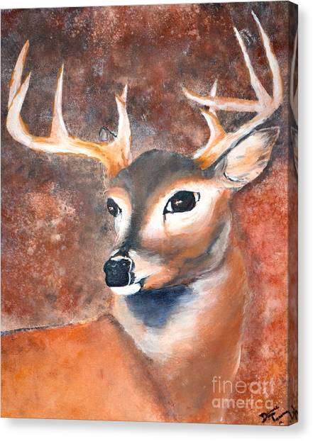 Oh Deer Canvas Print