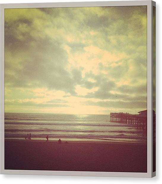 Beaches Canvas Print - Oh How I've Missed This Place! #sd by Cortney Herron