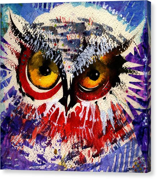 Oh Hush Canvas Print