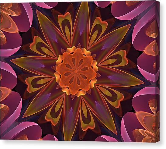 Oh La La Kaleidoscope Canvas Print