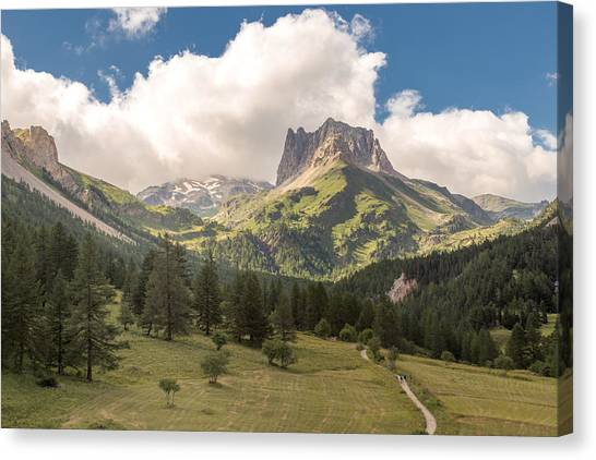 Italy Canvas Print - Play Me Some Mountain Music by A Rey
