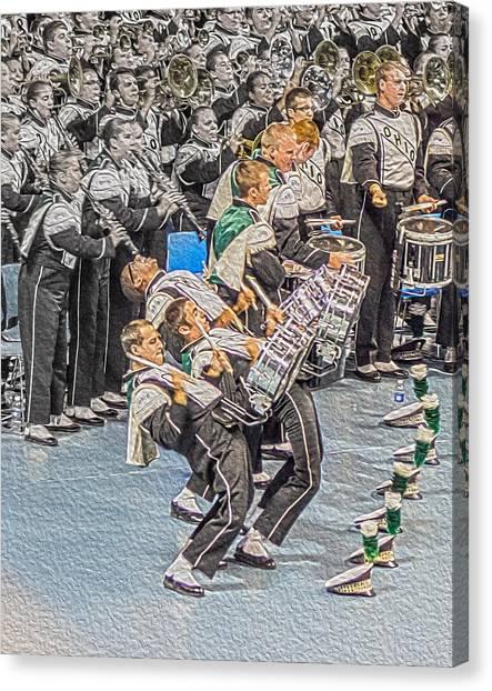Ohio University Canvas Print - Ohio Drum Line by Tom Gari Gallery-Three-Photography