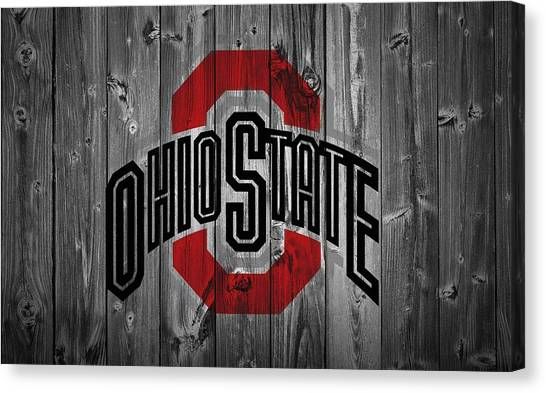 Red Door Canvas Print - Ohio State University by Dan Sproul