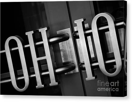 Colleges And Universities Canvas Print - Ohio Union  by Rachel Barrett