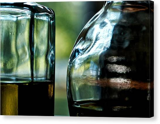 Oil And Vinegar 3 Canvas Print by Guillermo Hakim