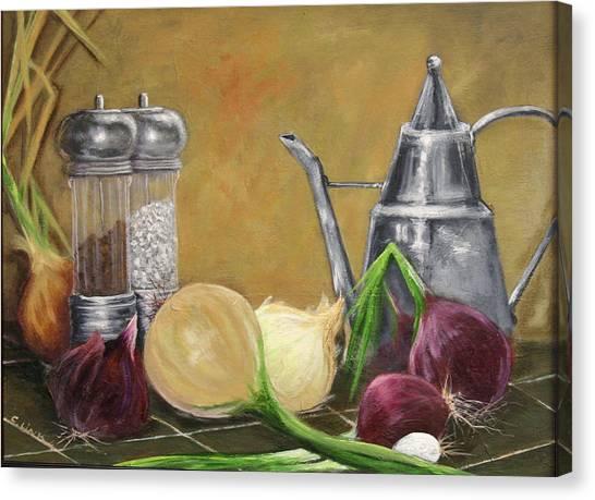 Oil Can Still Life Canvas Print