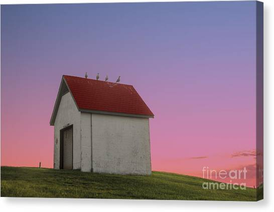 National Guard Canvas Print - Oil House by Juli Scalzi