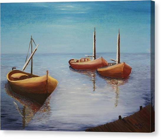 Oil Msc 023  Canvas Print