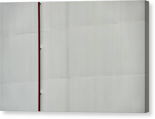 Oil Tank After Barnett Newman Canvas Print
