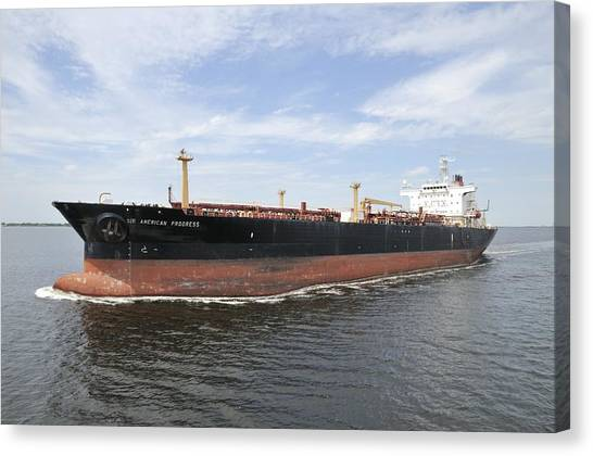 Oil Tanker Canvas Print