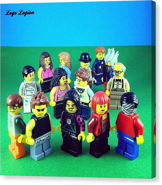 The Legion Canvas Print - Ok. So This Is A Special Thank You To by Lego Legion