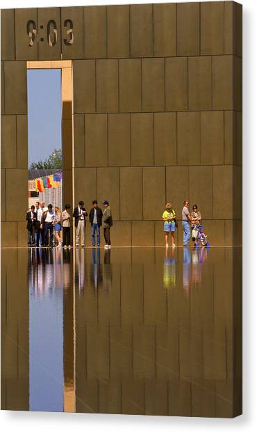 Oklahoma City Memorial Canvas Print