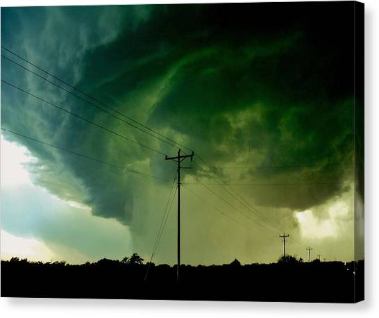 Oklahoma Mesocyclone Canvas Print