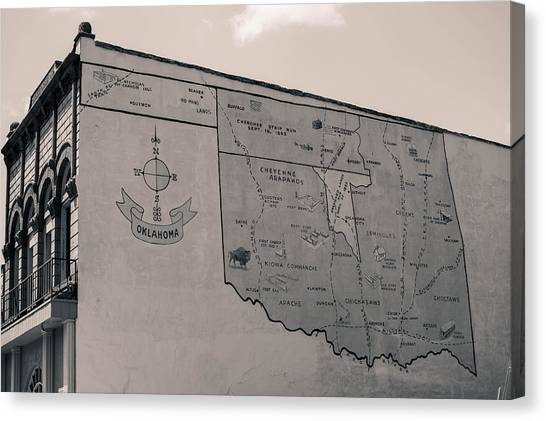 Oklahoma Mural Canvas Print