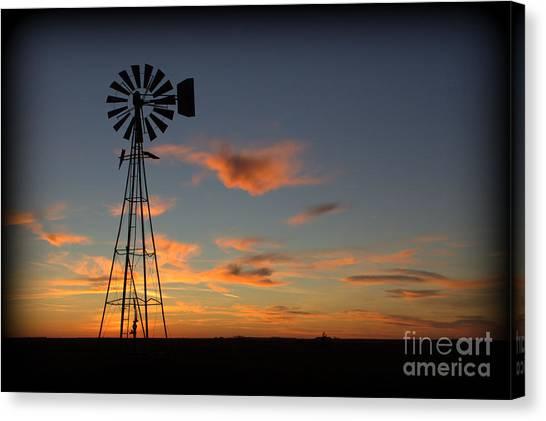 Oklahoma Skies 1 Canvas Print