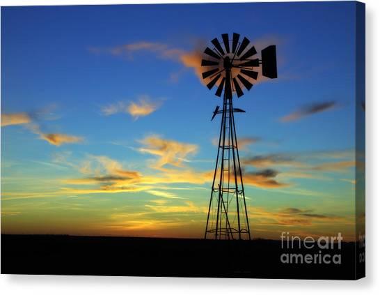 Oklahoma Skies 2 Canvas Print