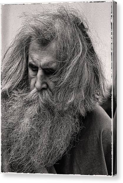 Ol Mose Canvas Print by Hal Norman K
