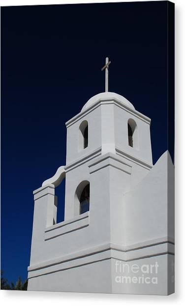 Old Adobe Mission Scottsdale Canvas Print