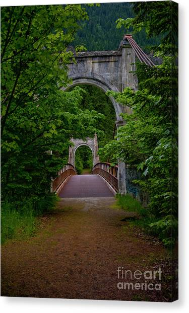 Old Alexandra Bridge Canvas Print