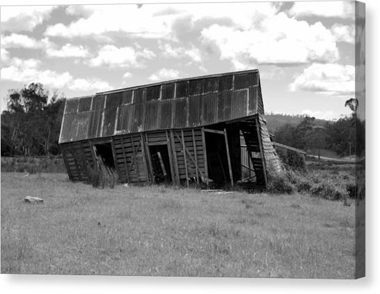Old And Tired Canvas Print by Philip Hartnett