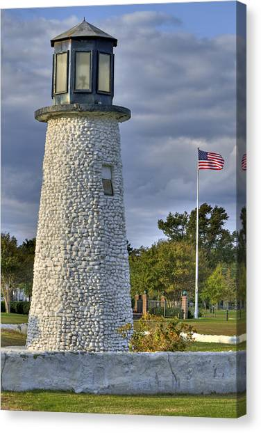 Old Buckroe Lighthouse Canvas Print