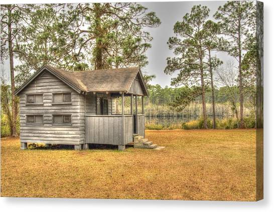 Old Cabin In Georgia Canvas Print