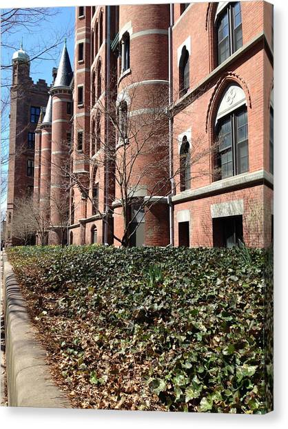 Ivy League Canvas Print - Old Campus Exterior by Susan Israel