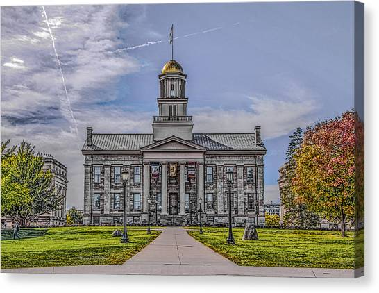 Old Capitol Canvas Print