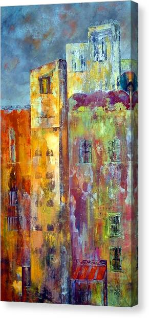 Old City East Canvas Print
