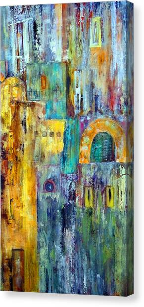 Old City West Canvas Print
