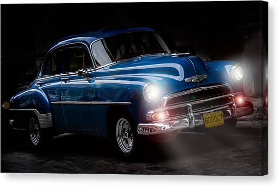 Old Classic Car I Canvas Print