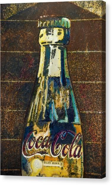 Old Coke Canvas Print